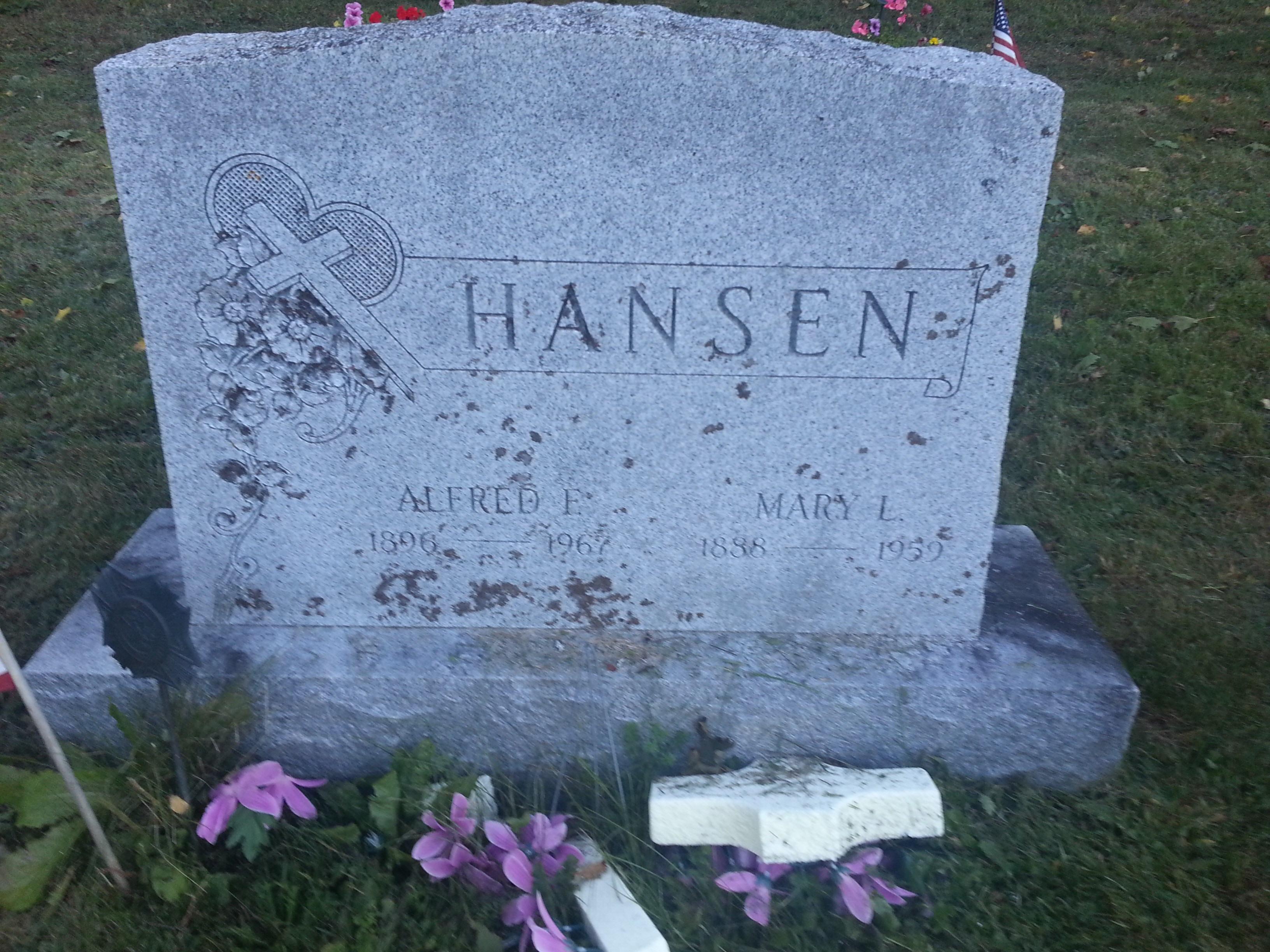 Mary Lavina Hansen