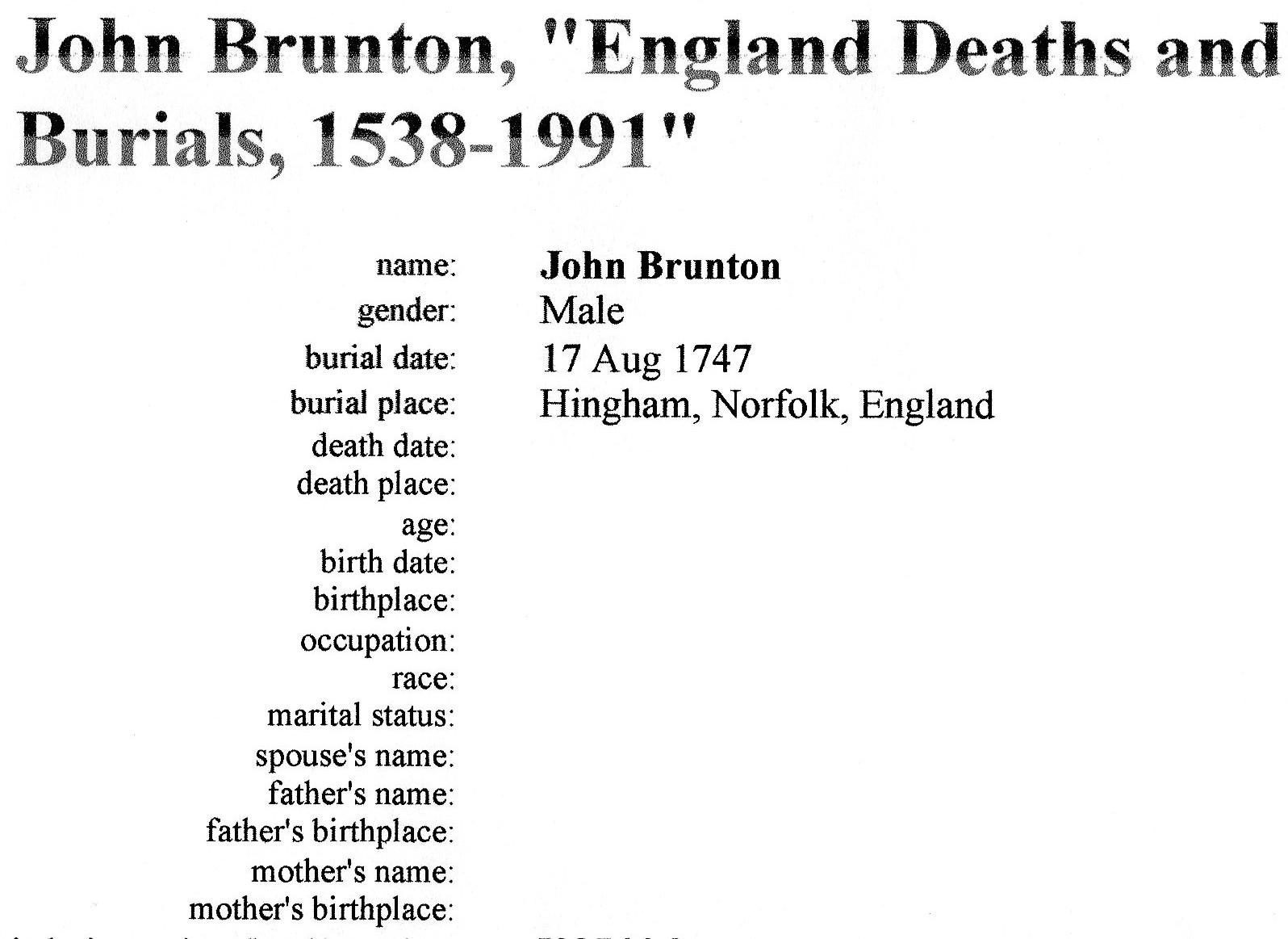 John Brunton