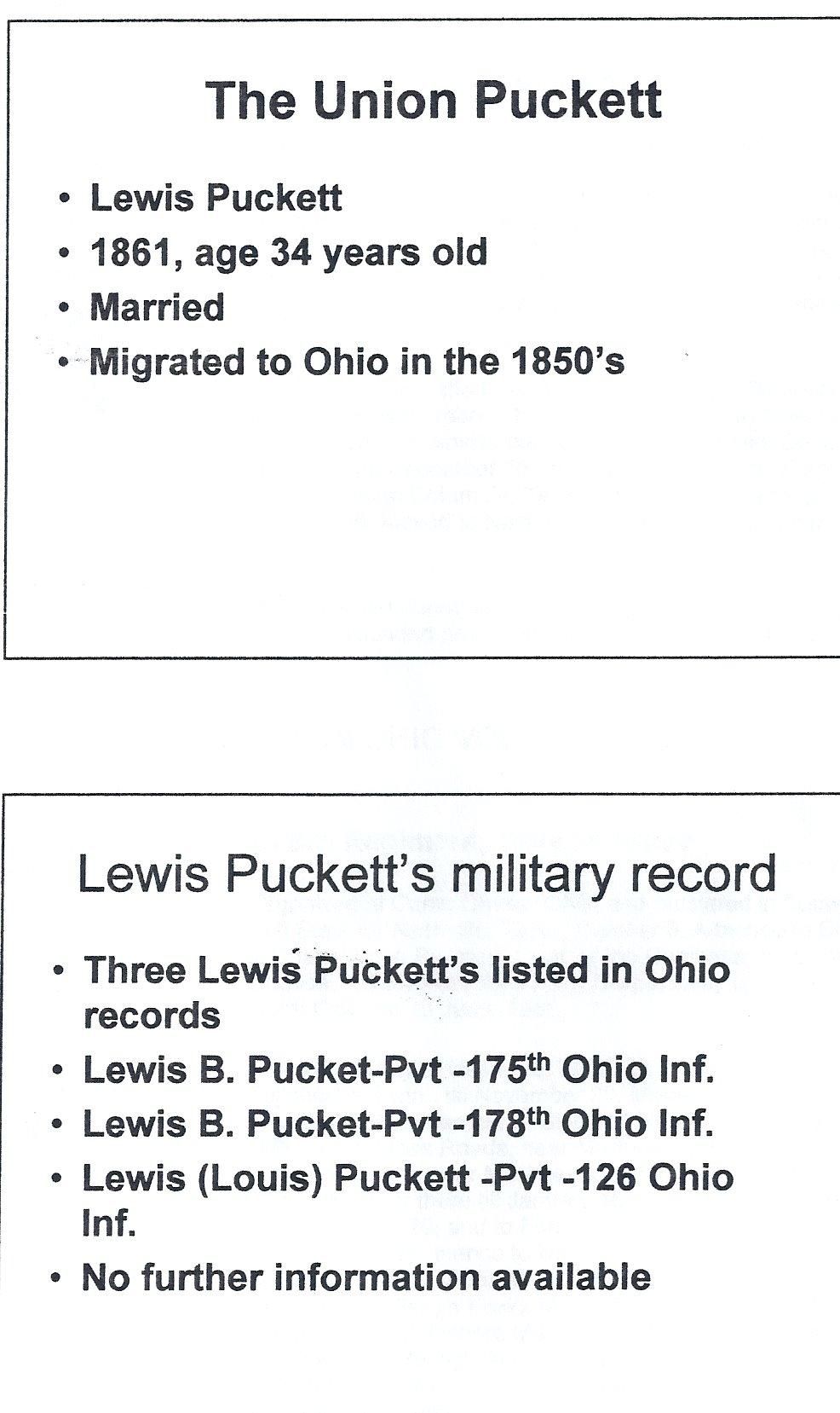 Lewis Puckett