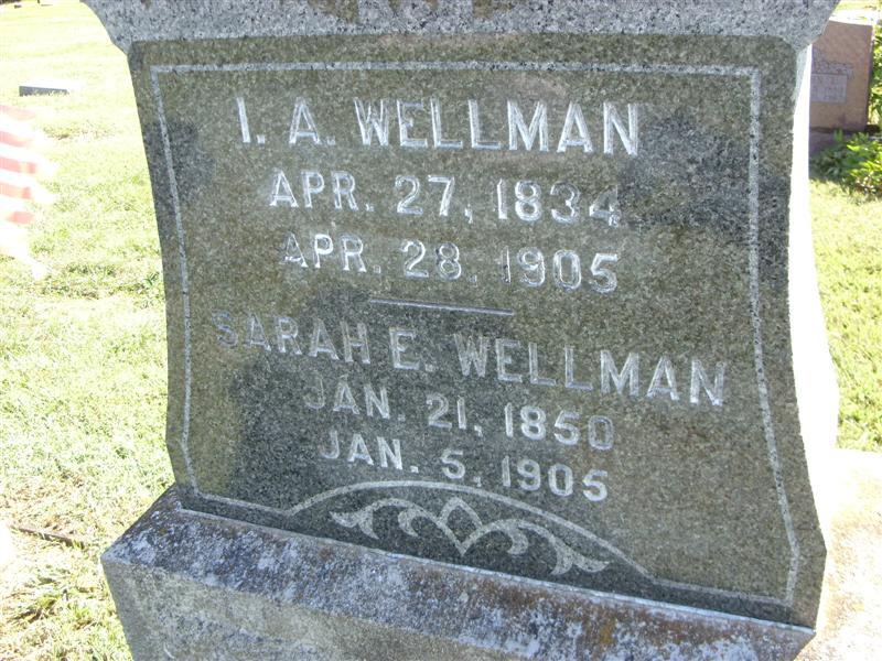 Sarah Jane Wellman