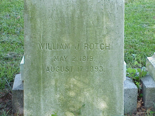William James Rotch