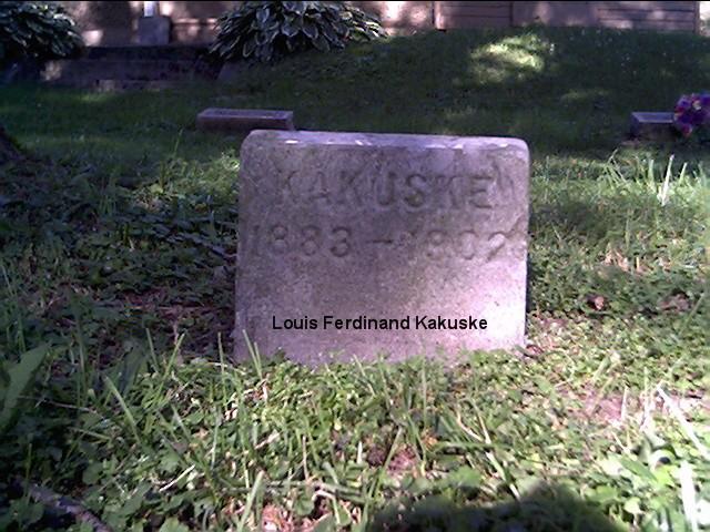 Louis F Kakuske