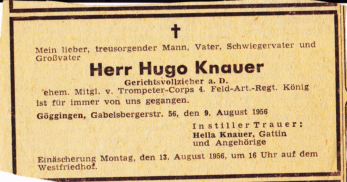 Bruno Hugo Knauer