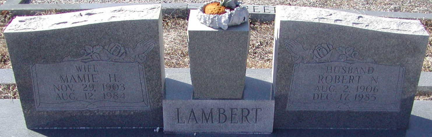 Robert N Lambert