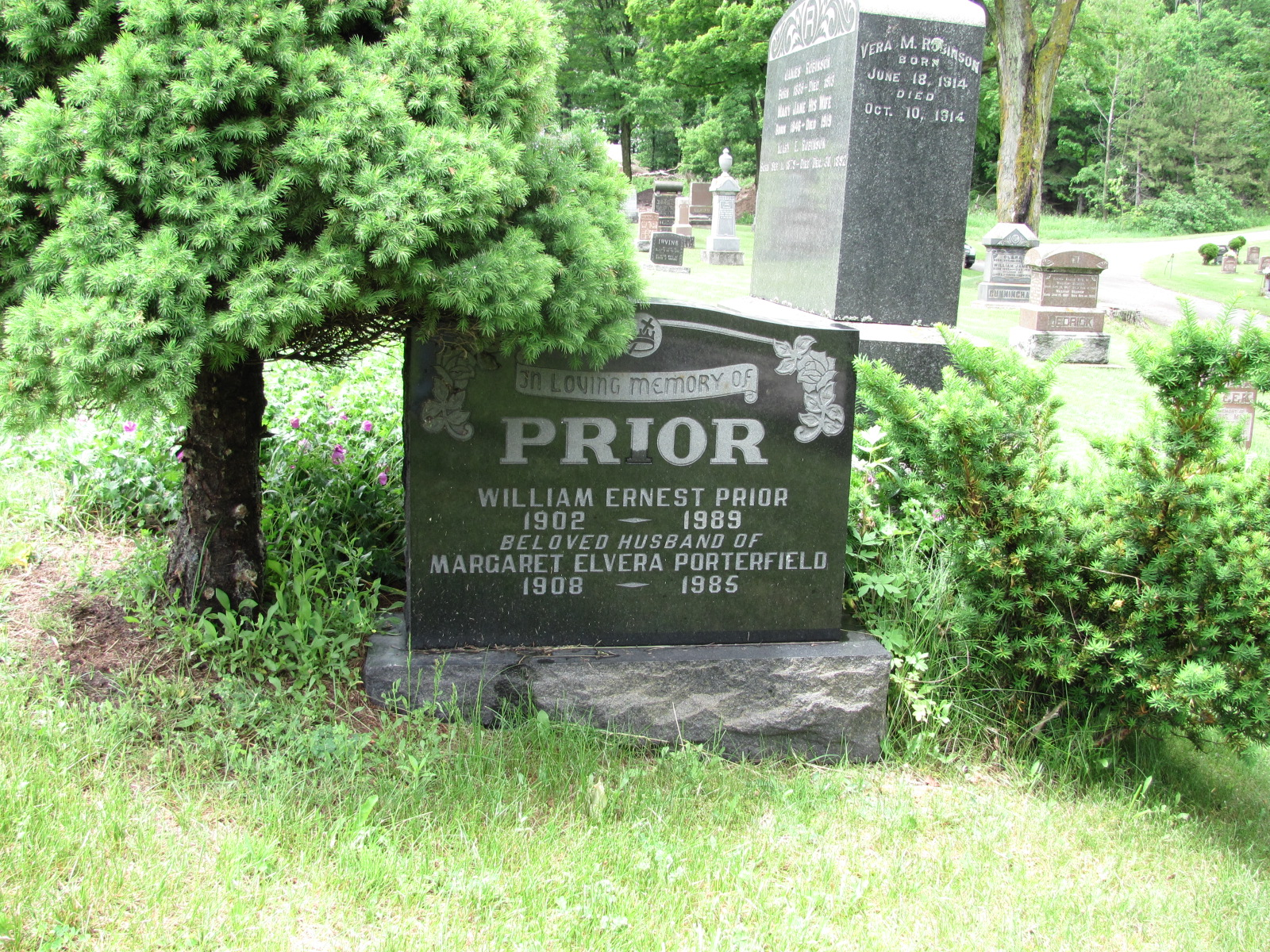 Ernest A Prior