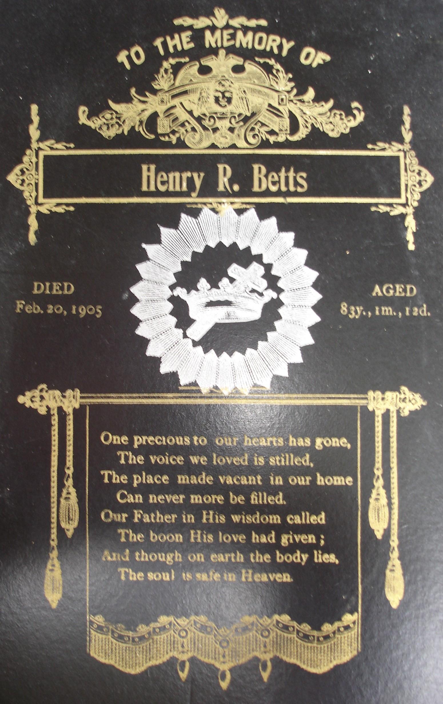 Henry Betts