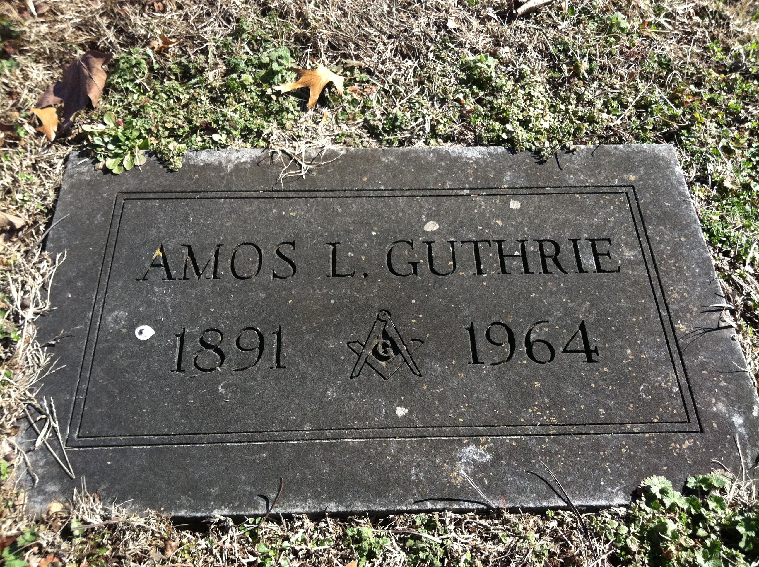 Amos G Guthrie