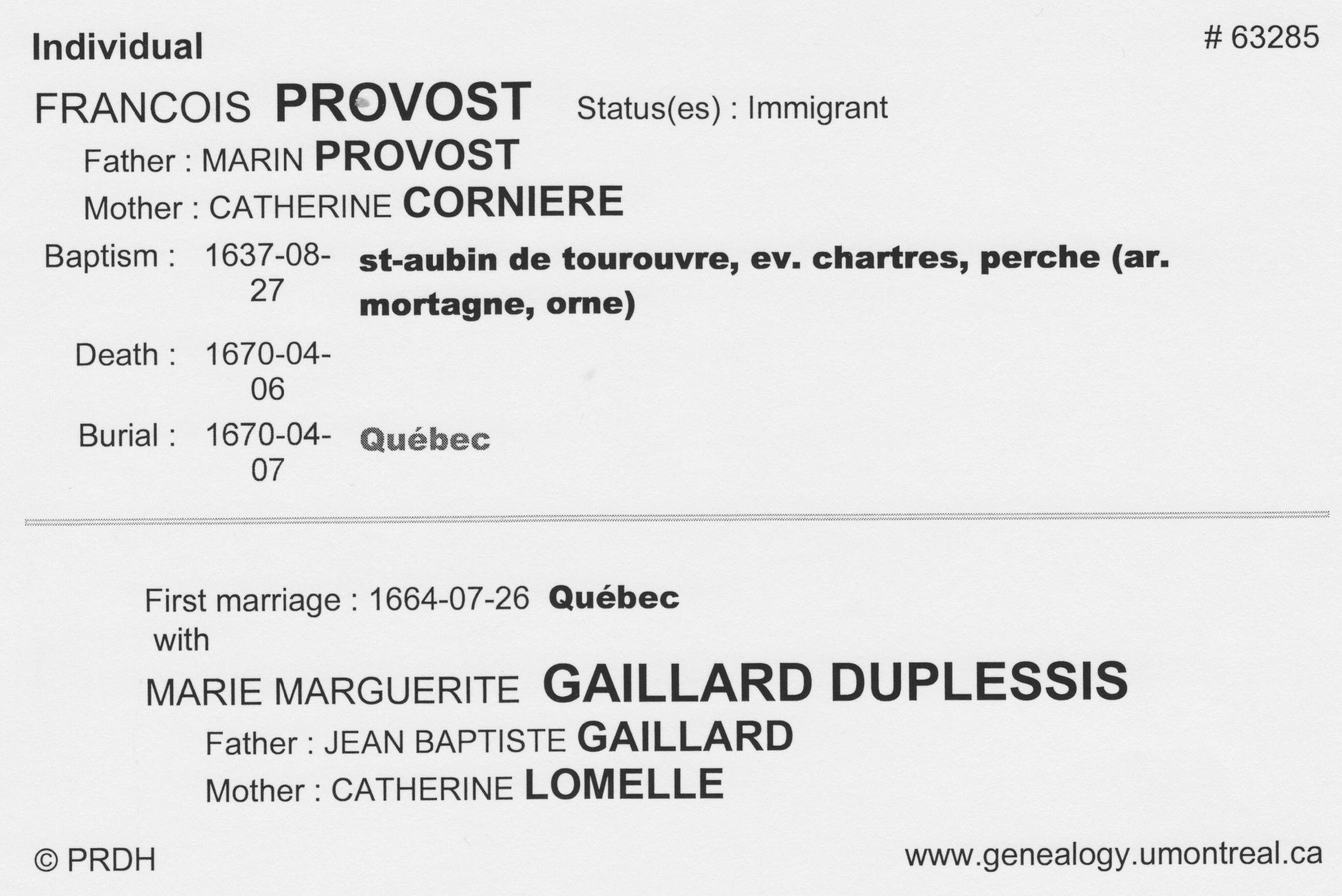 Francois Provost