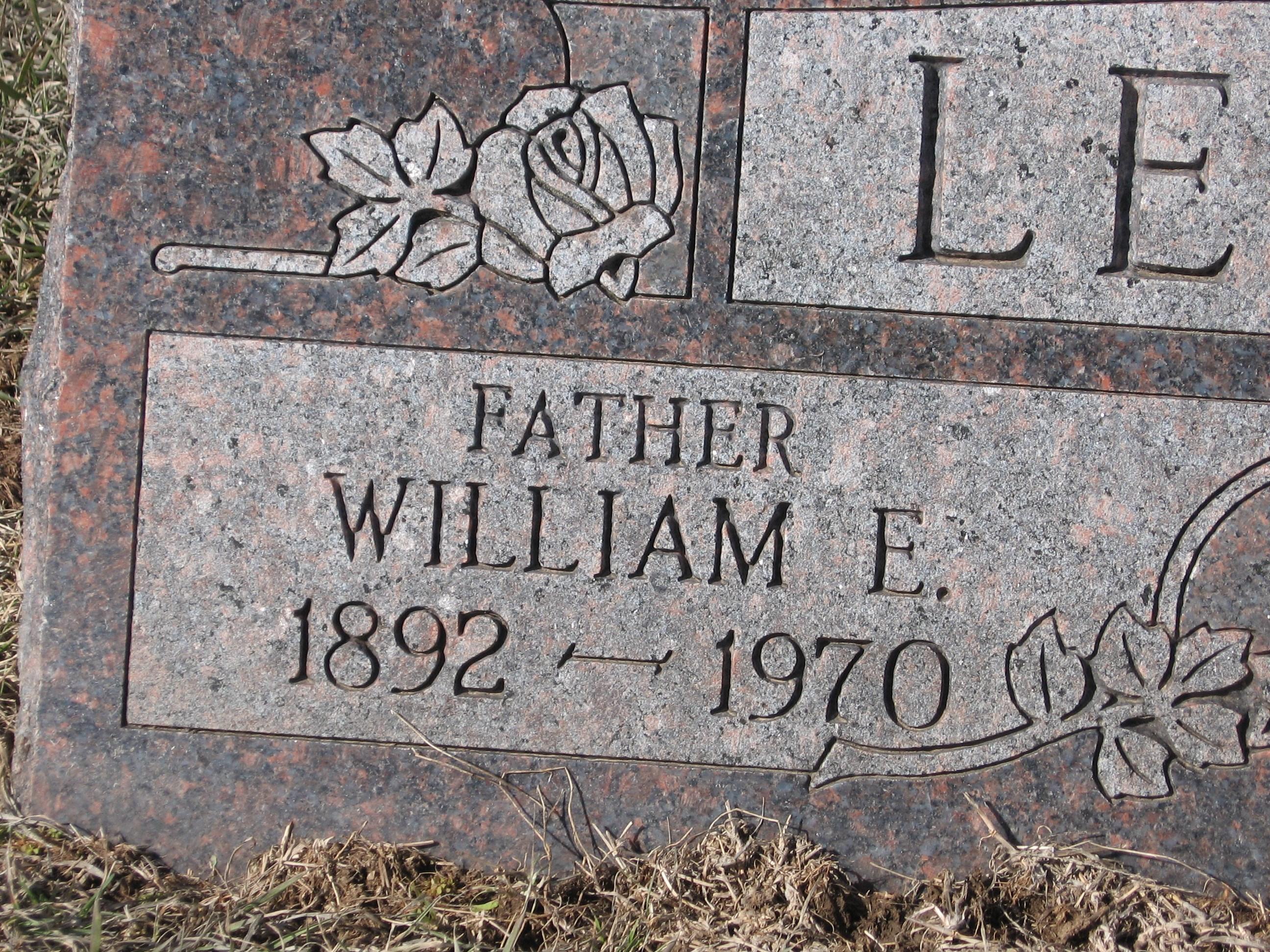 William Edward Lewis