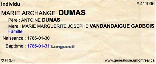 Marie Celeste Dumas