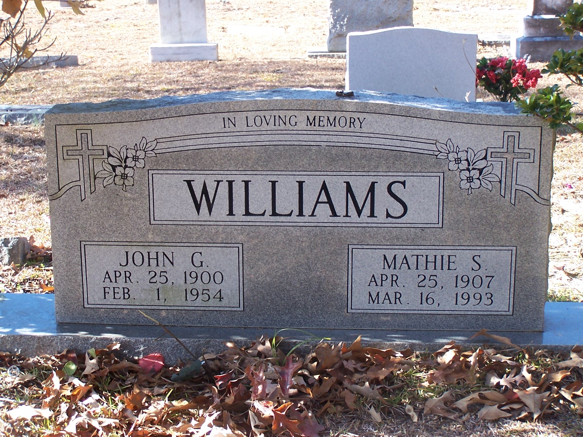 John G Williams