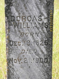 Dorcas Williams Tomstone