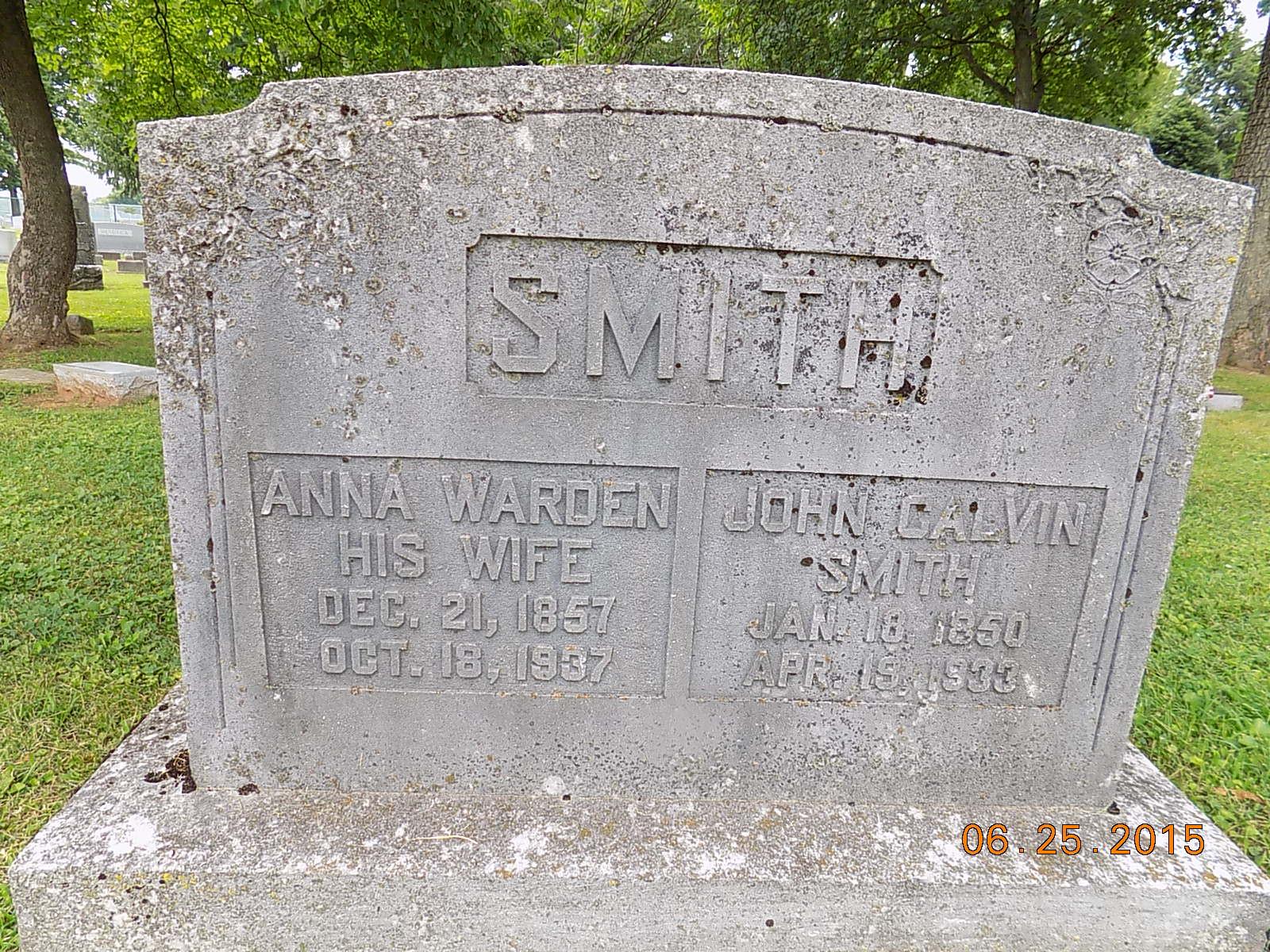 Anna Geneva Warden