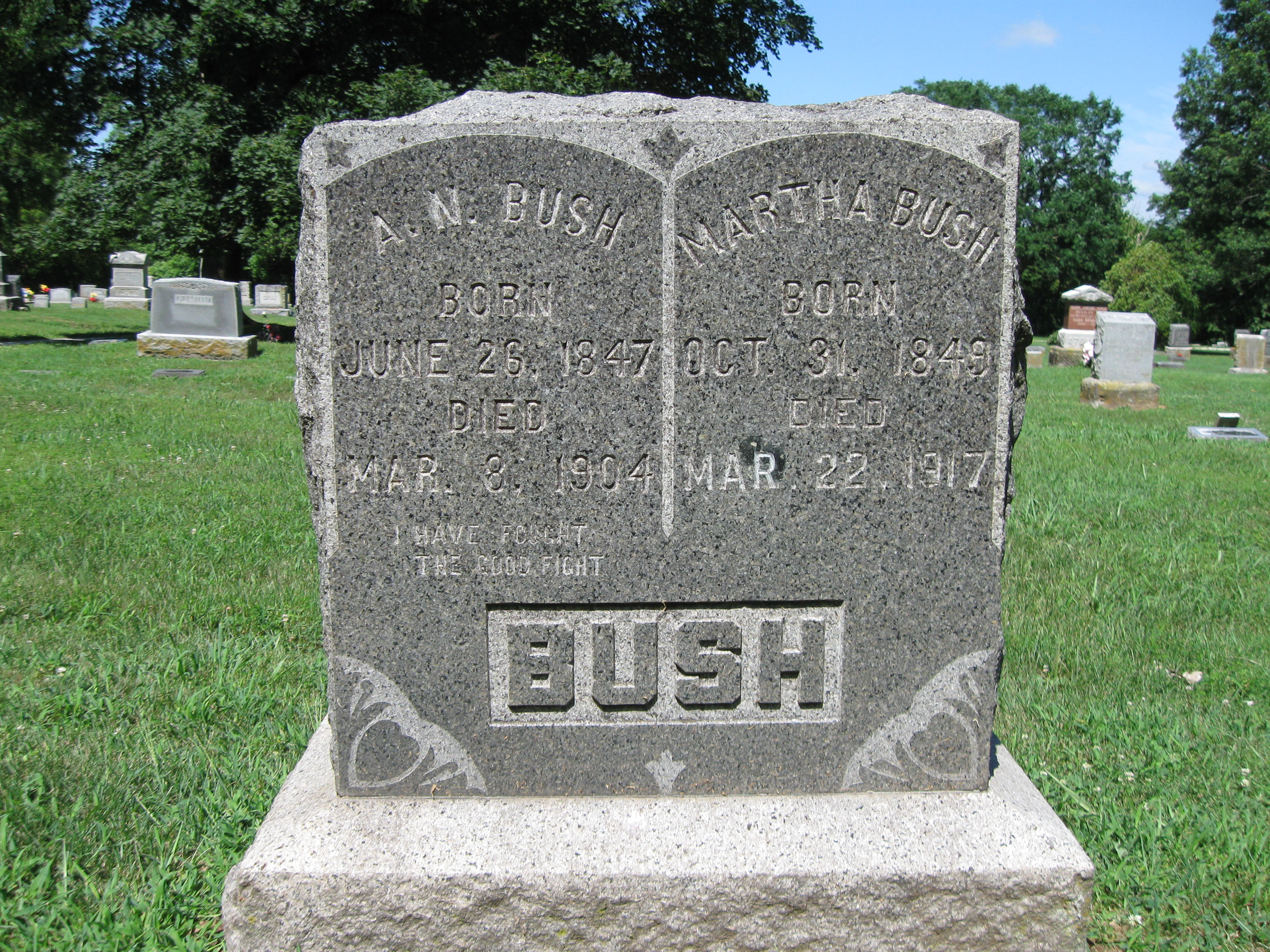 Aaron W Bush