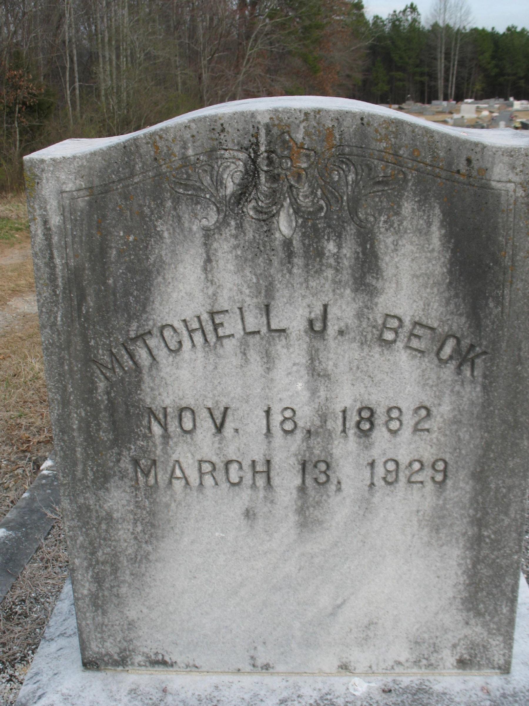 Mitchell Robertson Beck