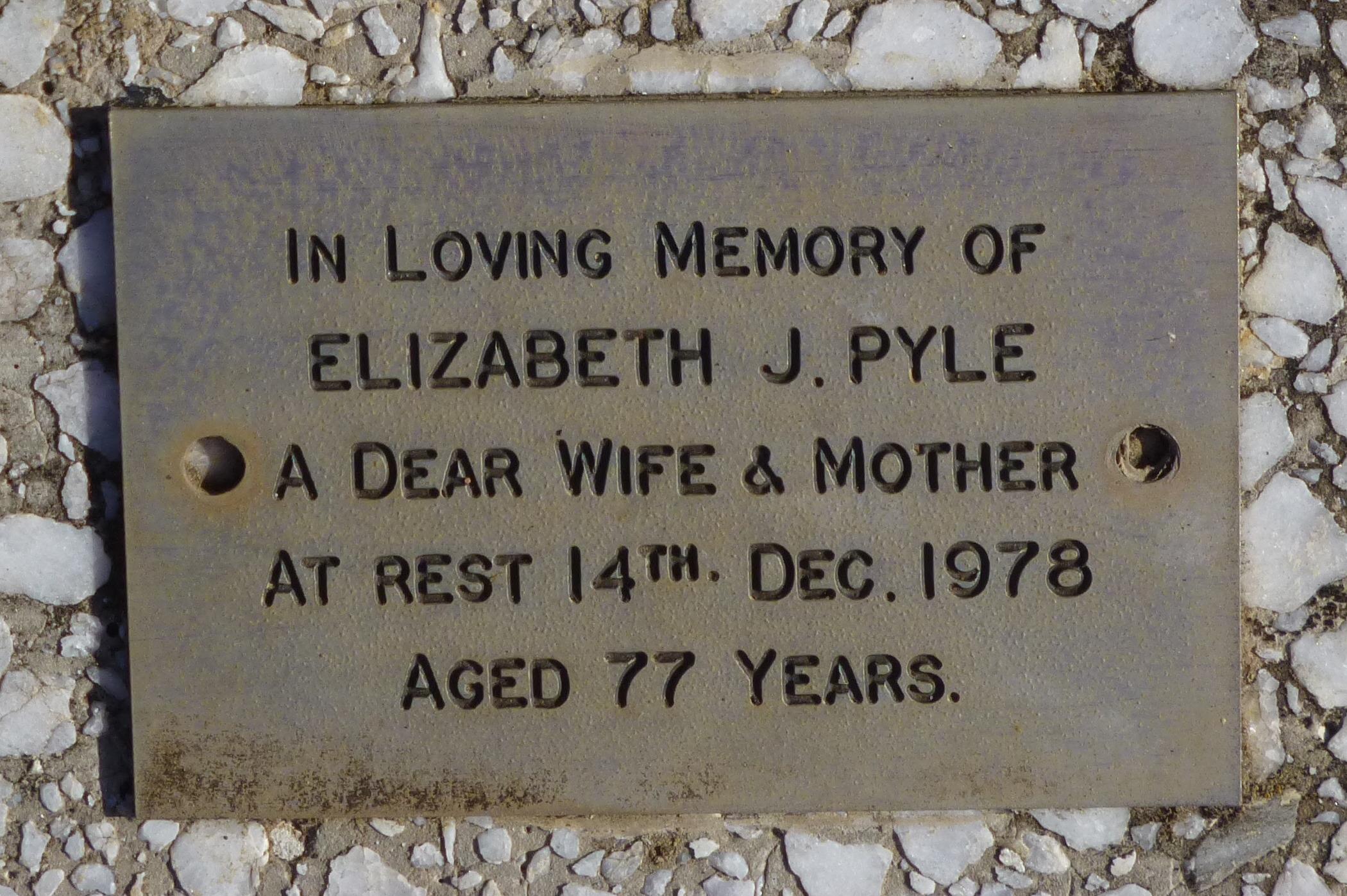 Elizabeth Jane Bruce