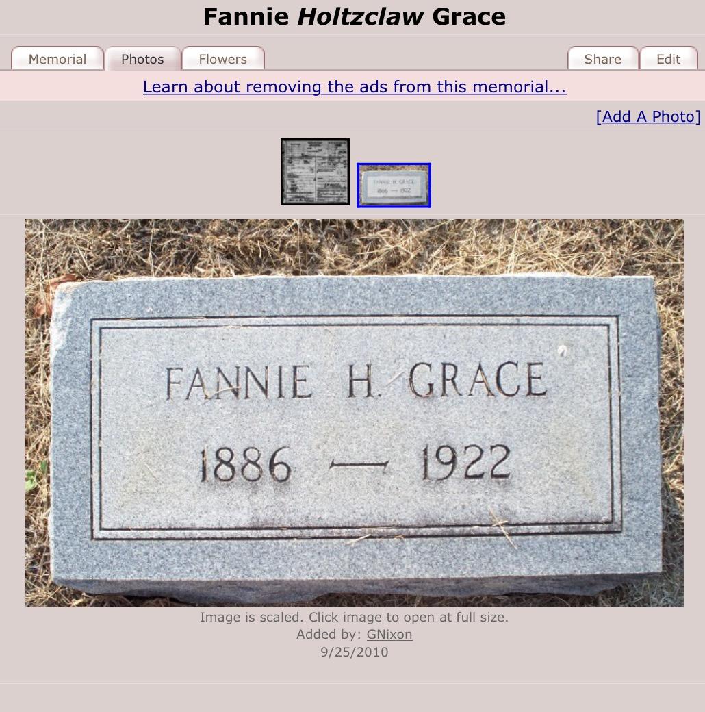 Fanny Holtzclaw