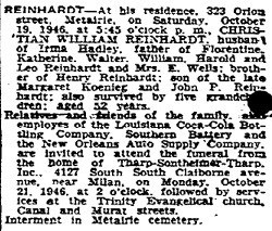 William H Reinhardt
