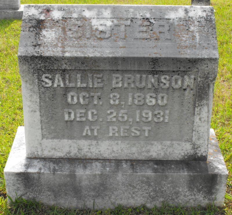 Sally Brunson