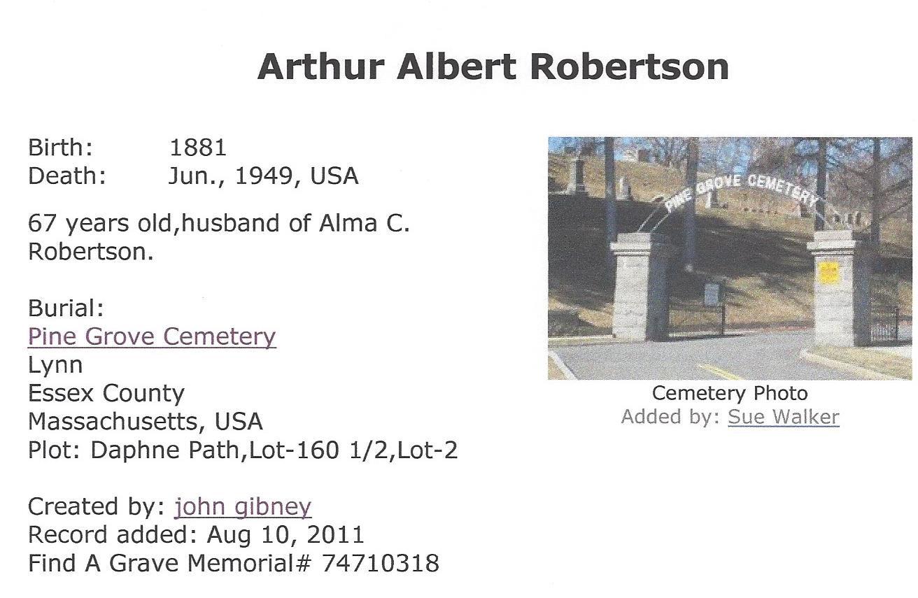 Artie Robertson