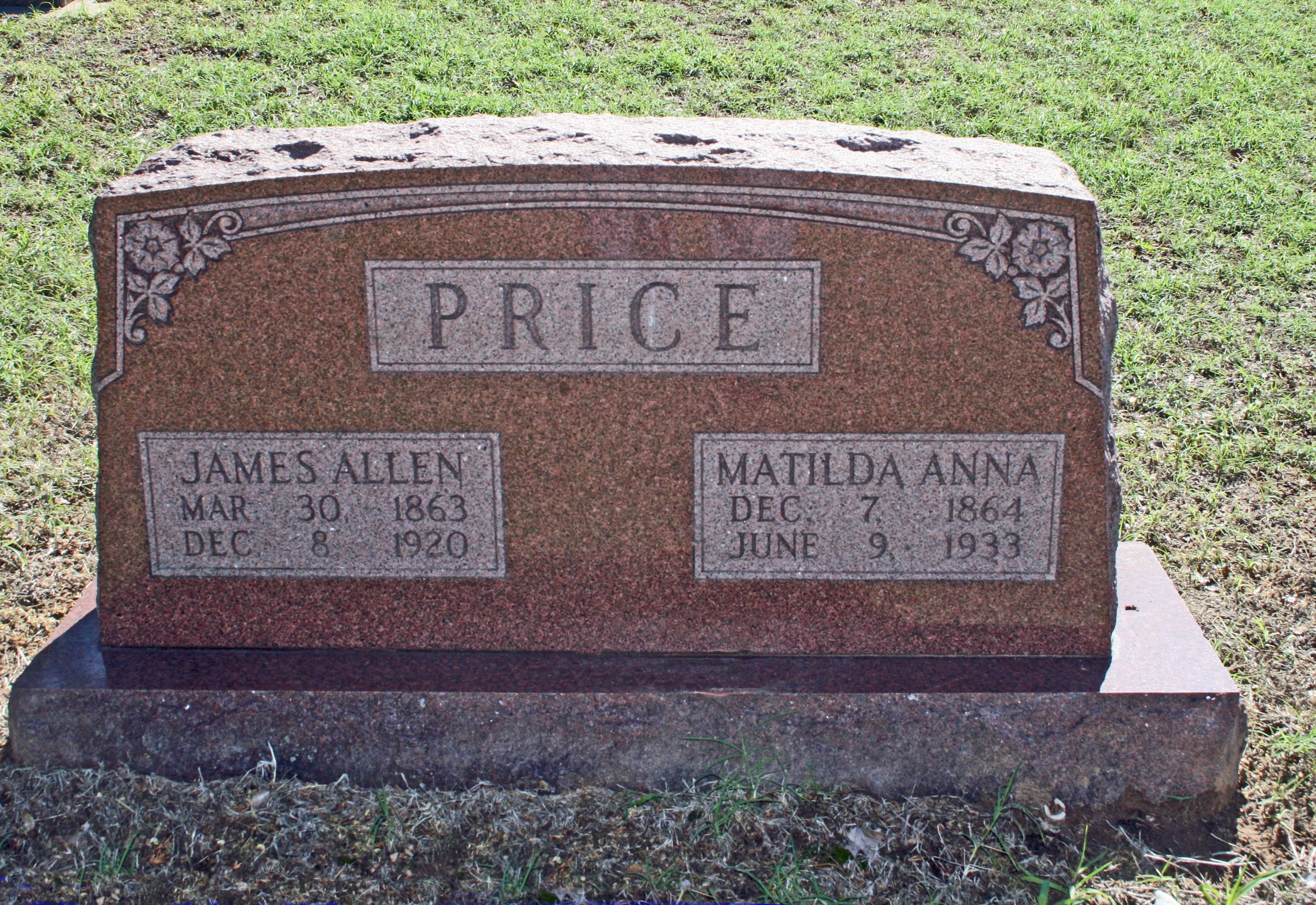 James Allen Price