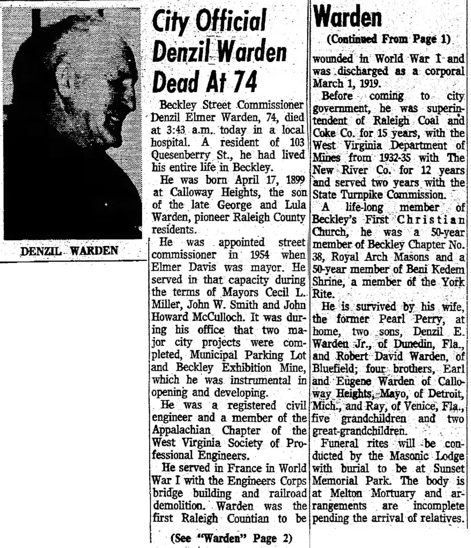 Elmer Warden