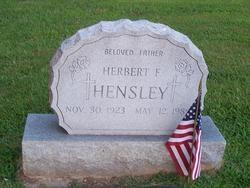 Frank J Hensley