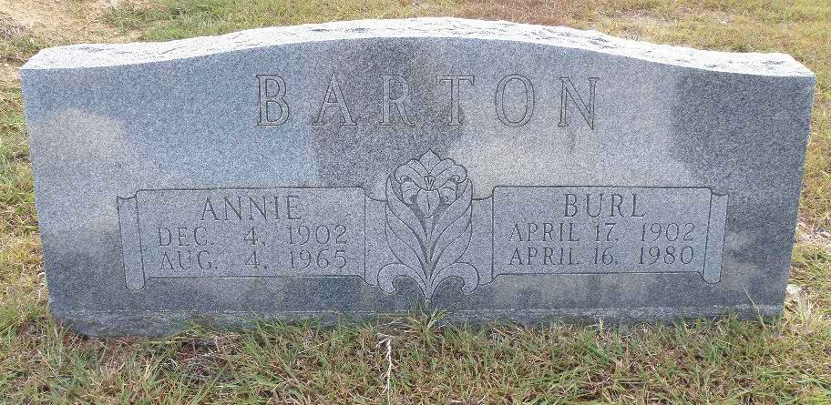 Burrell I Barton