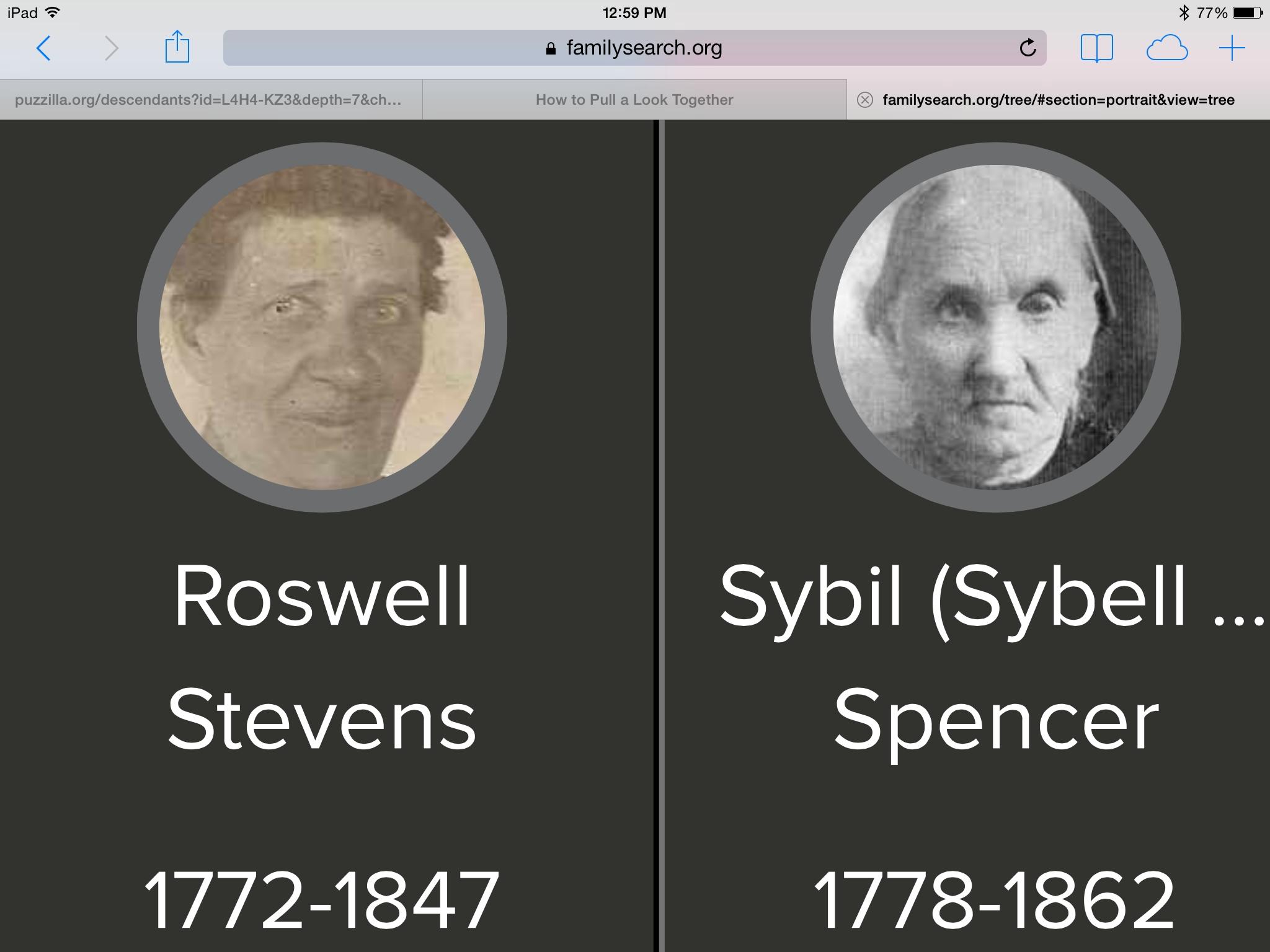 Roswell Stevens