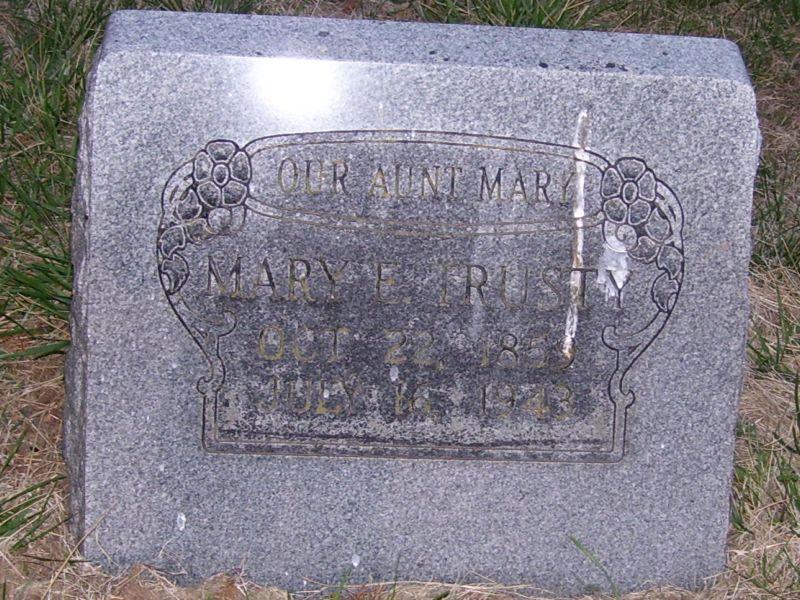 Mary E Trusty