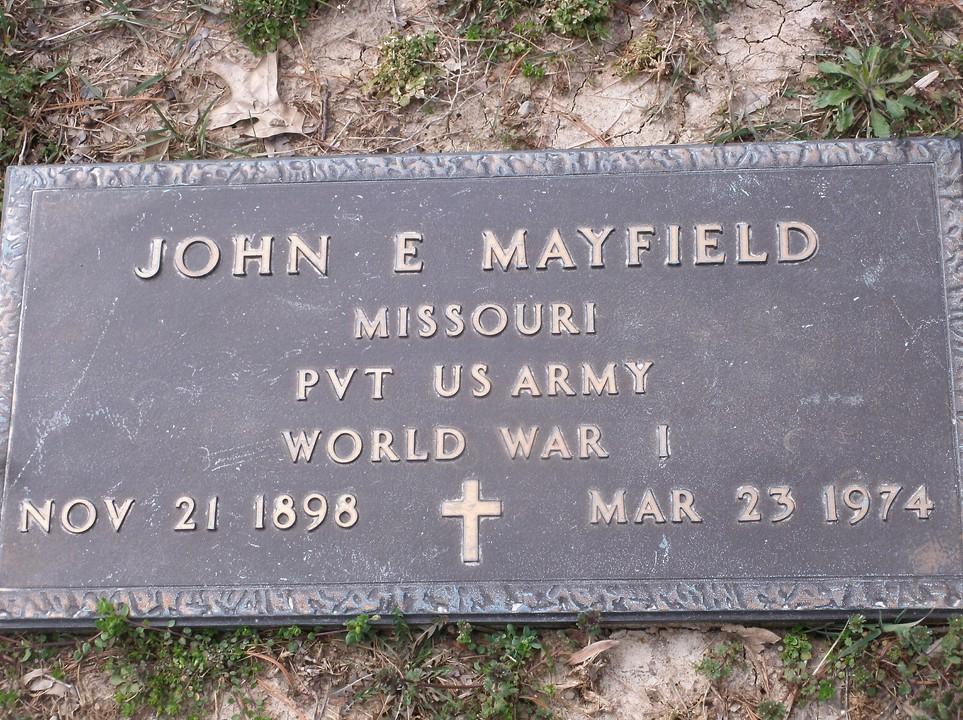 John C Mayfield