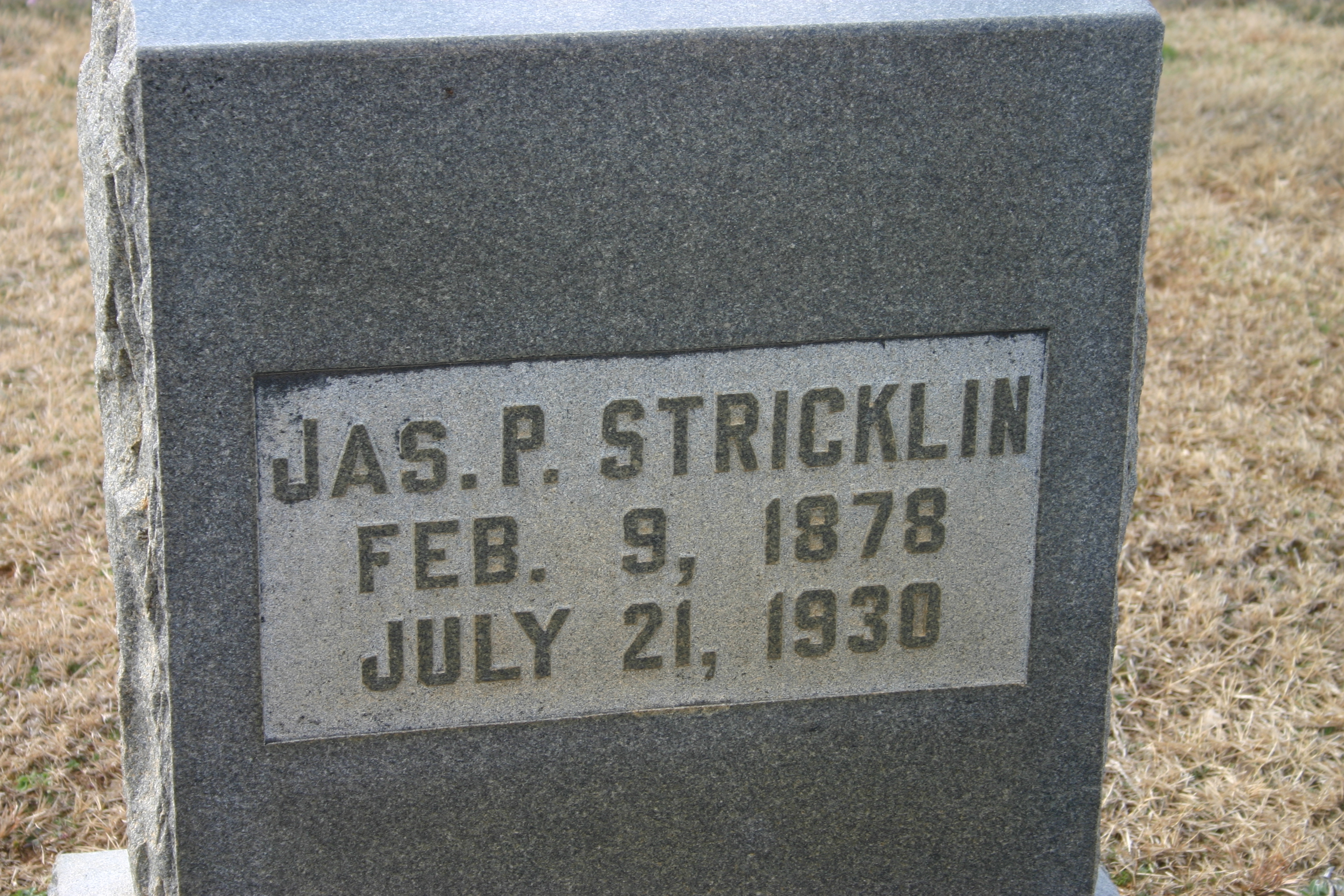 James Franklin Stricklin