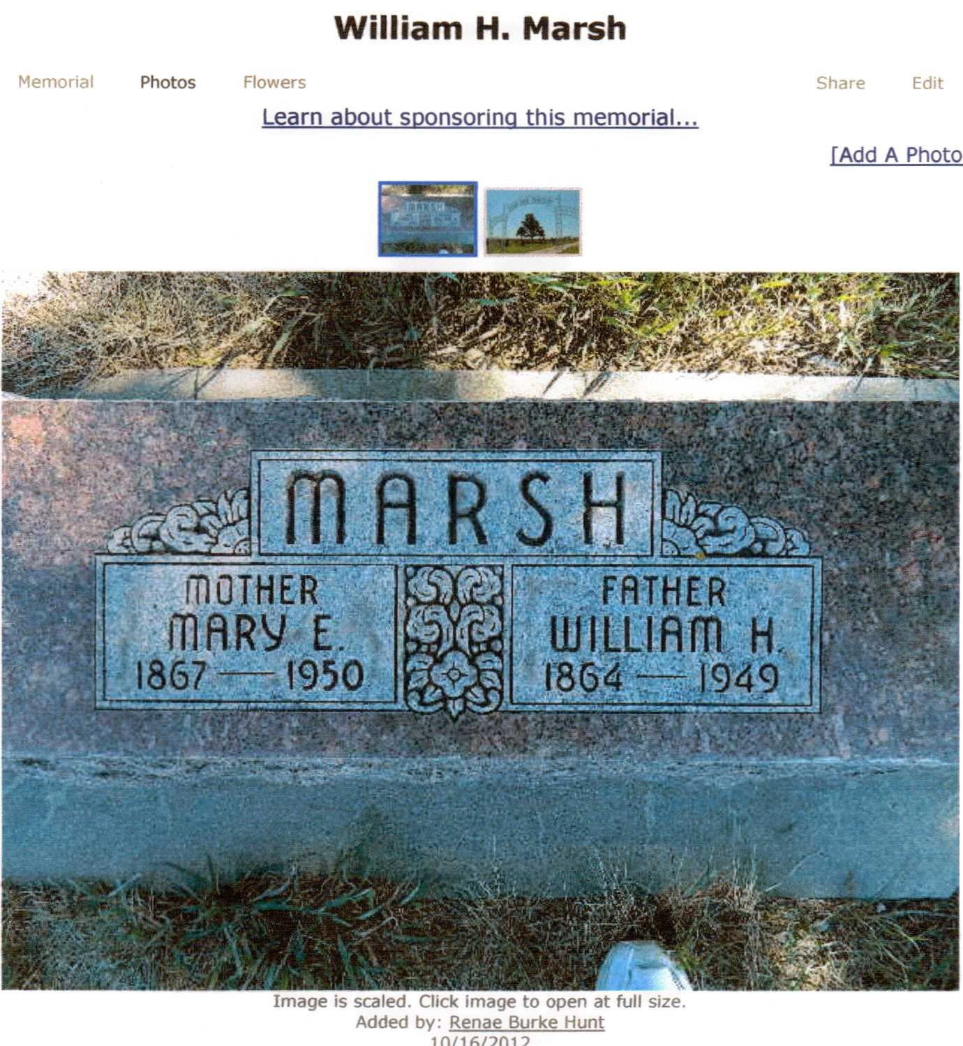 William Harrison Marsh