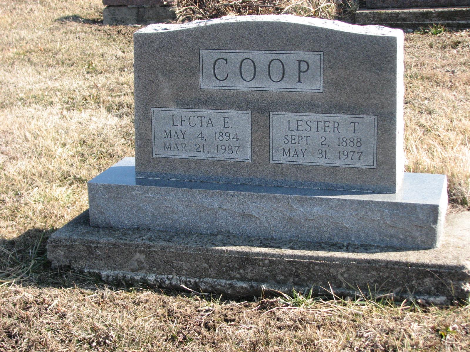Tommy Lester Coop