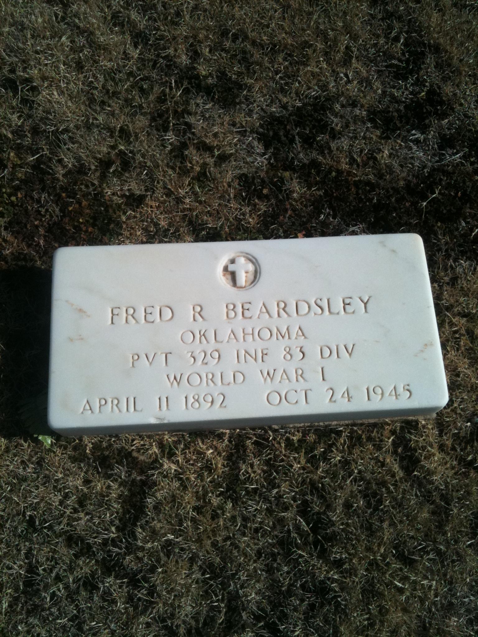 Fred P Beardsley P Beardsley