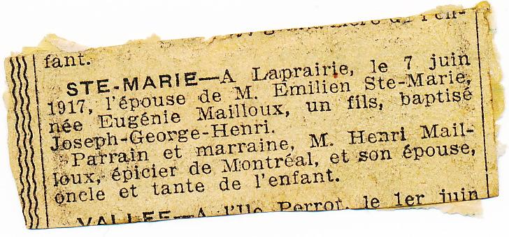 Henri Ste Marie