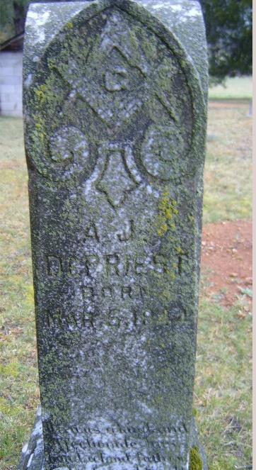 Andrew Jackson Depriest