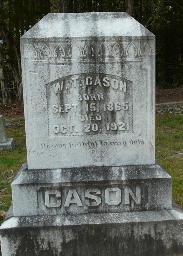 William E Cason