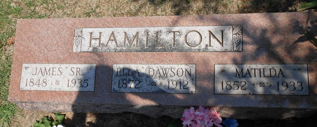 James Adolphus Hamilton