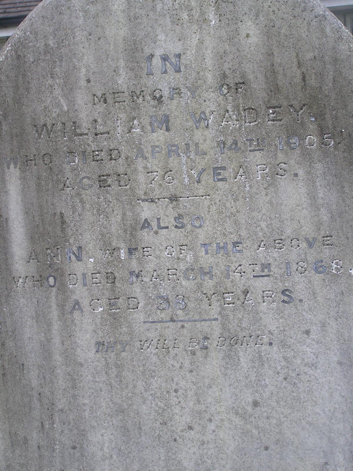 William Wadey