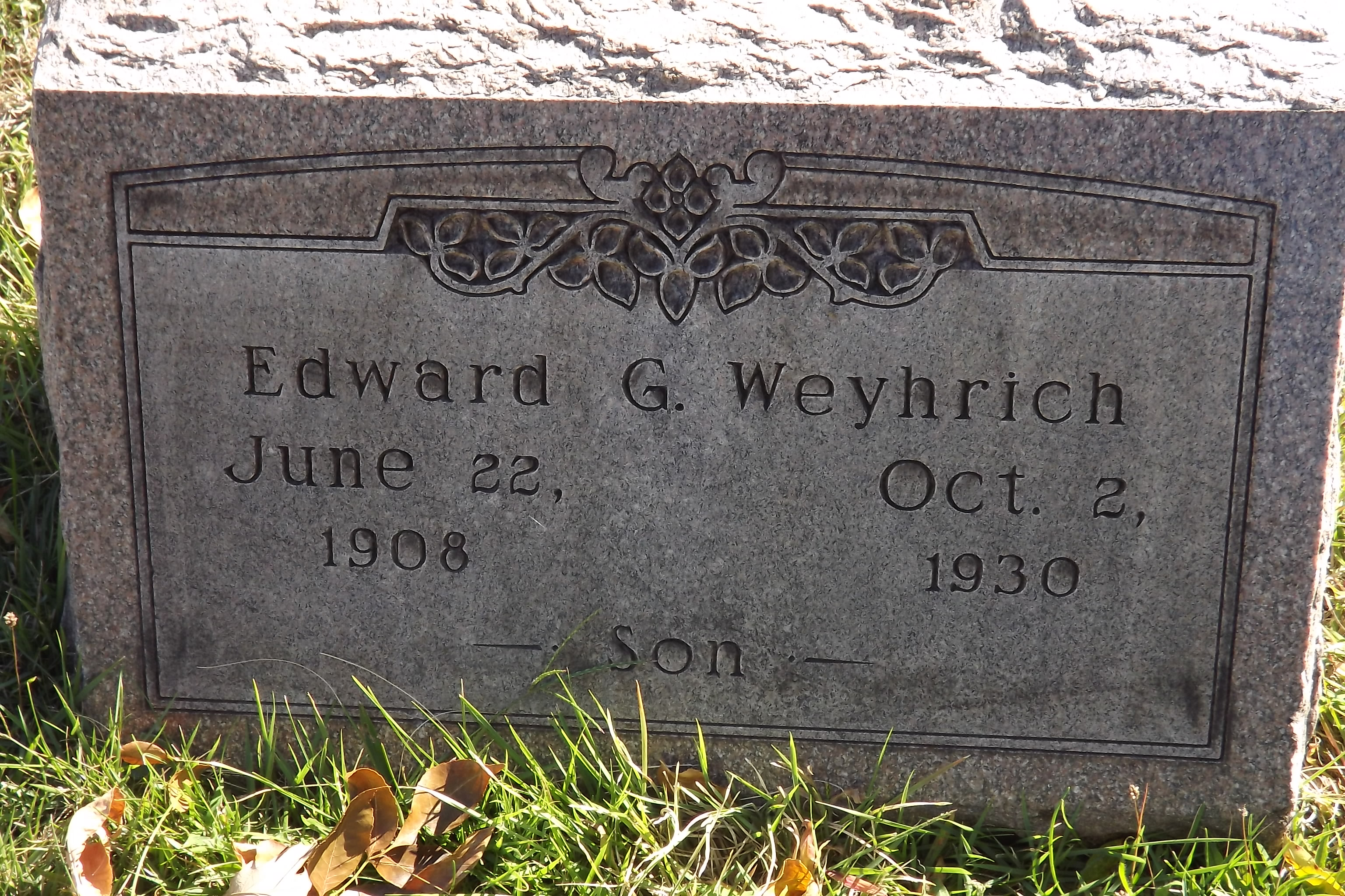 George Weyhrich