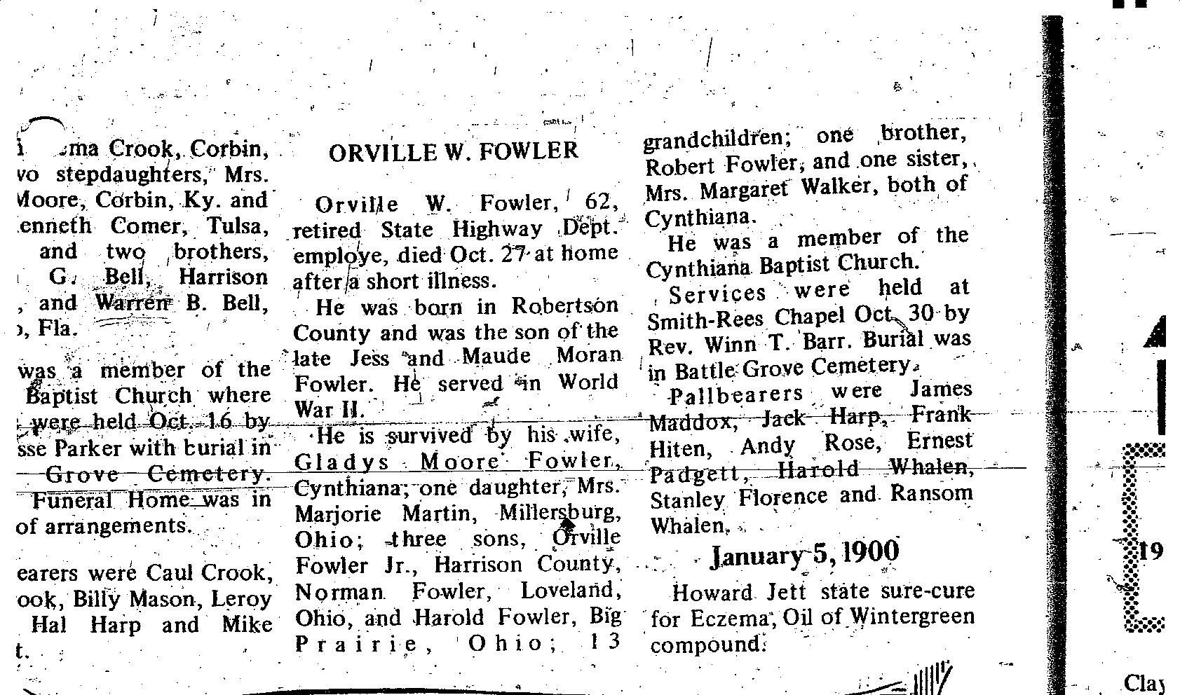 Orville Fowler