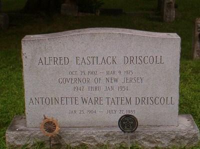 Alfred E Driscoll