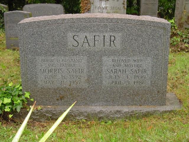 Sarah Safir