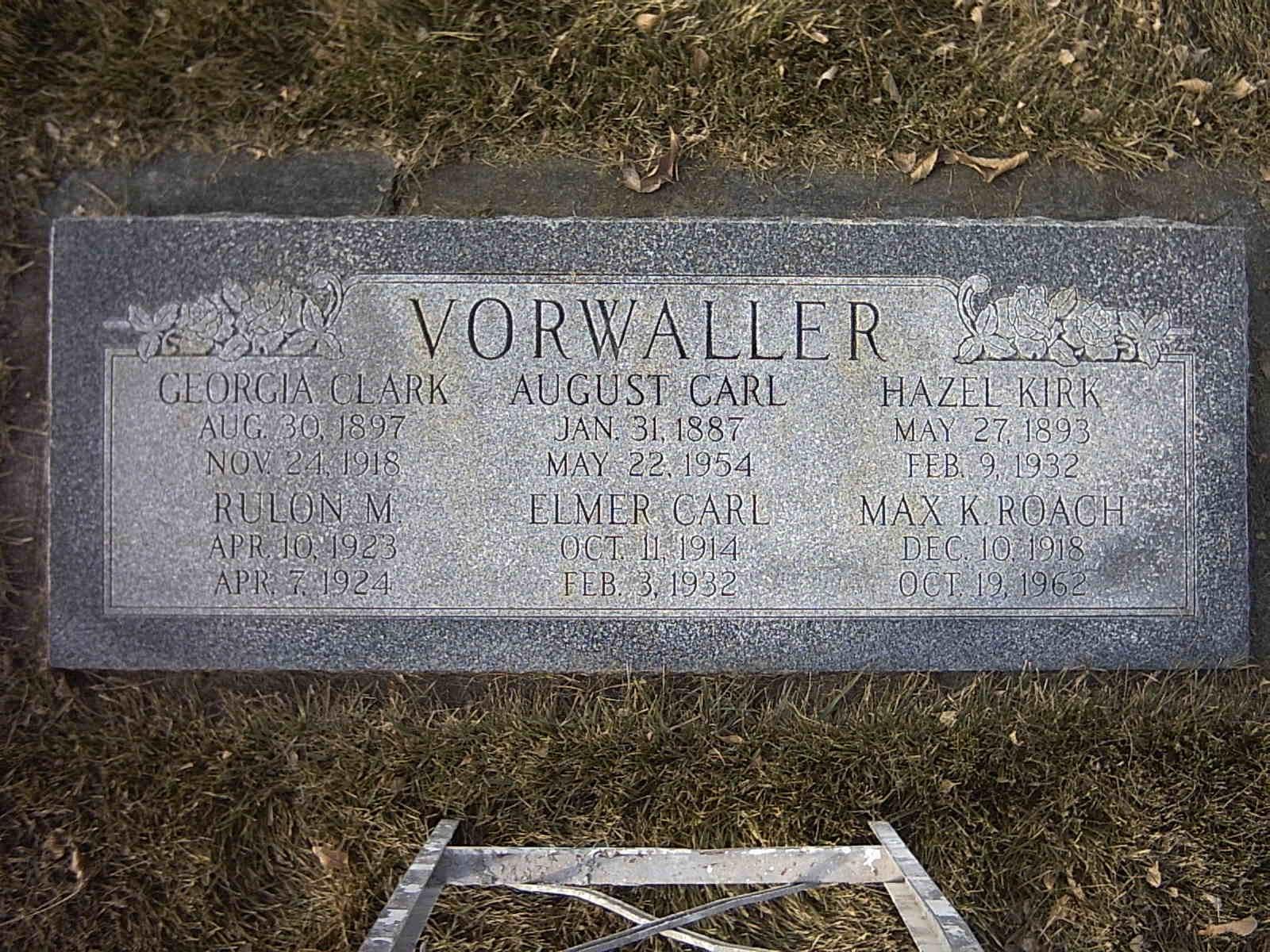 Karl August Vorwaller