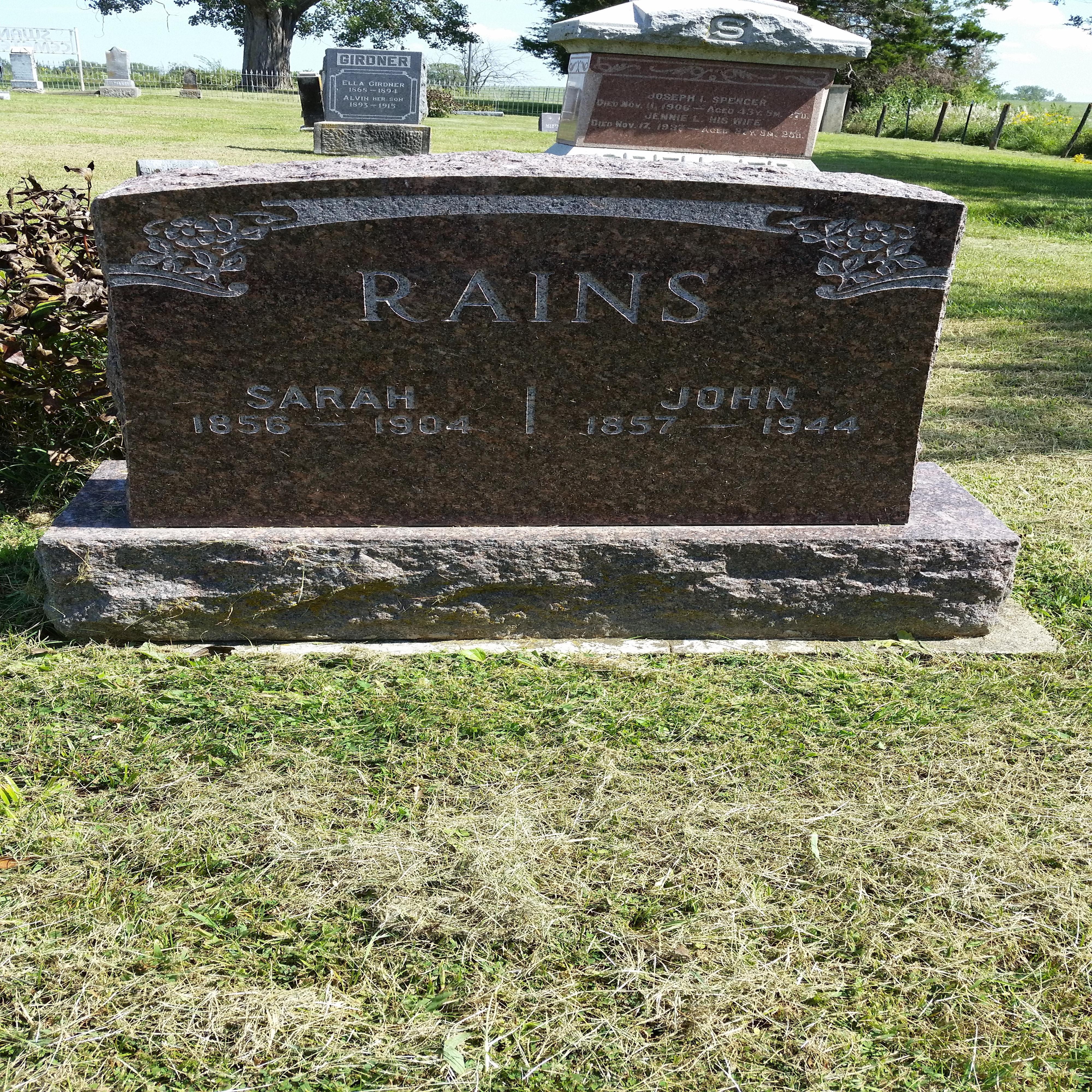John K Rains