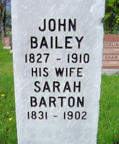 John F Bailey