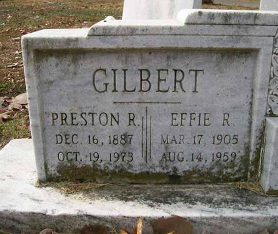 Effie Gilbert