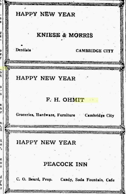 Frank H Ohmet