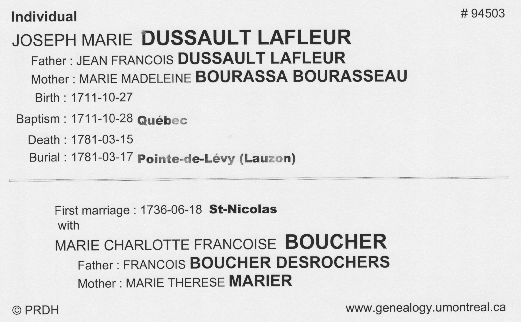 Marie Victoire Dussault